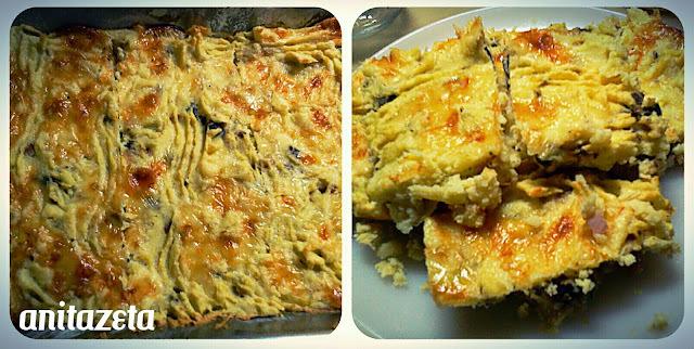 Torta di patate! (Torta/pastel de papas)
