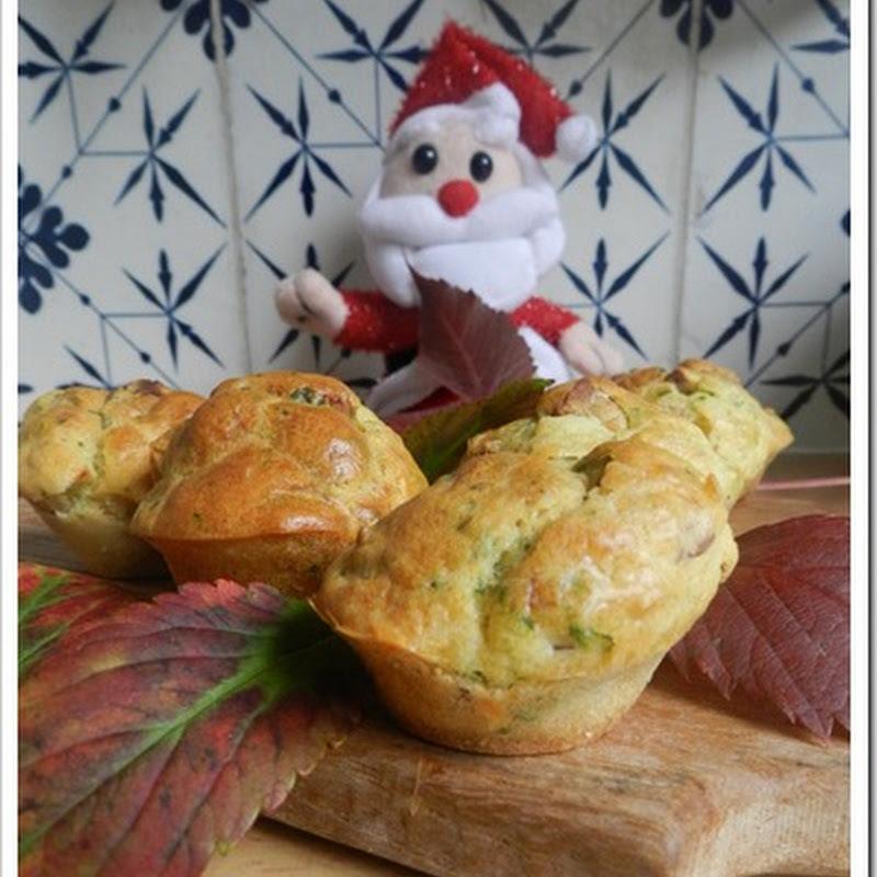 Des muffins d'automne qui se croyaient à Noël….pour le Muffin Monday….