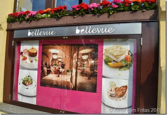Restaurante Bellevue em Praga