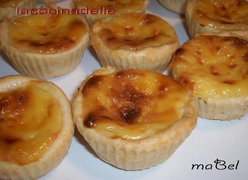 Pasteles portugueses de nata - Pasteis de Belem