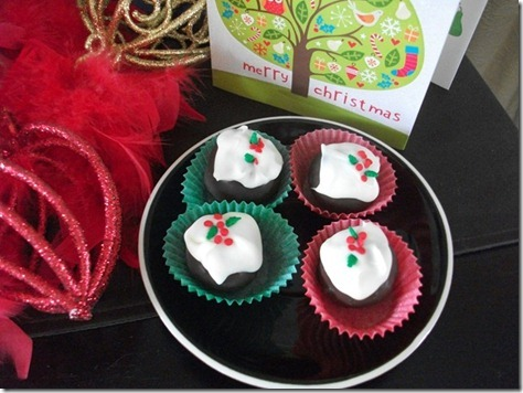 alison holst christmas pudding truffles