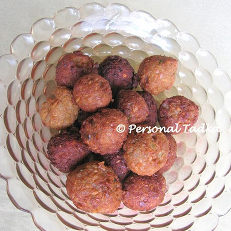 Falafel – Indianized version of the crispy balls