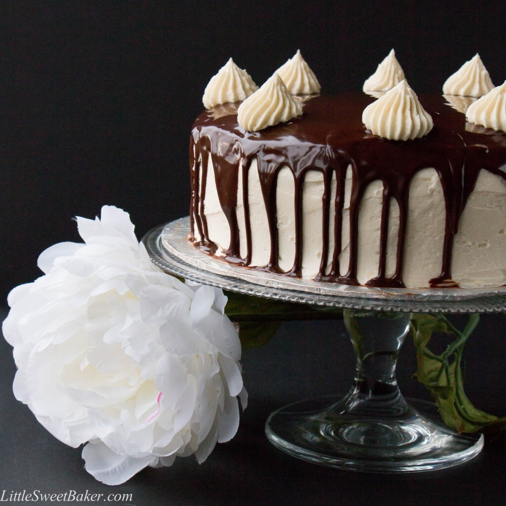 Triple Chocolate Shadow Cake