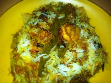 Restaurant Quality Prawn Biryani… Made Super Easy!!!