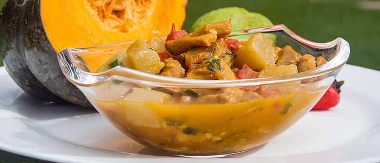 Receita light: cozido de frango com legumes