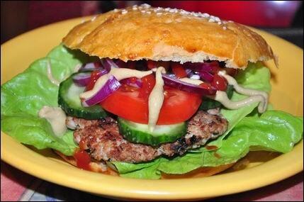 Hamburger házilag ;)