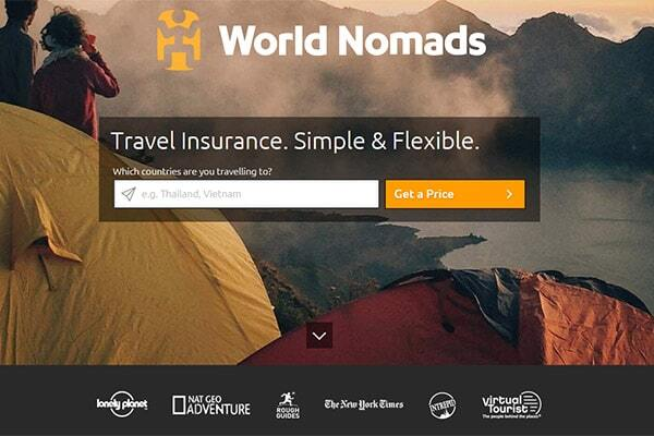 World Nomads Seguro viagem com a melhor cobertura