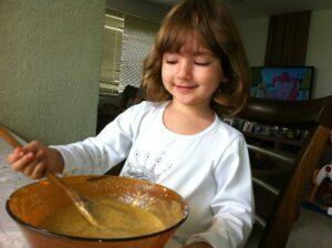 Cupcake de maracujá saudável pra fazer com as crianças