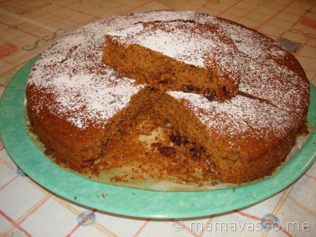 Μπομπότα κέικ νηστίσιμο