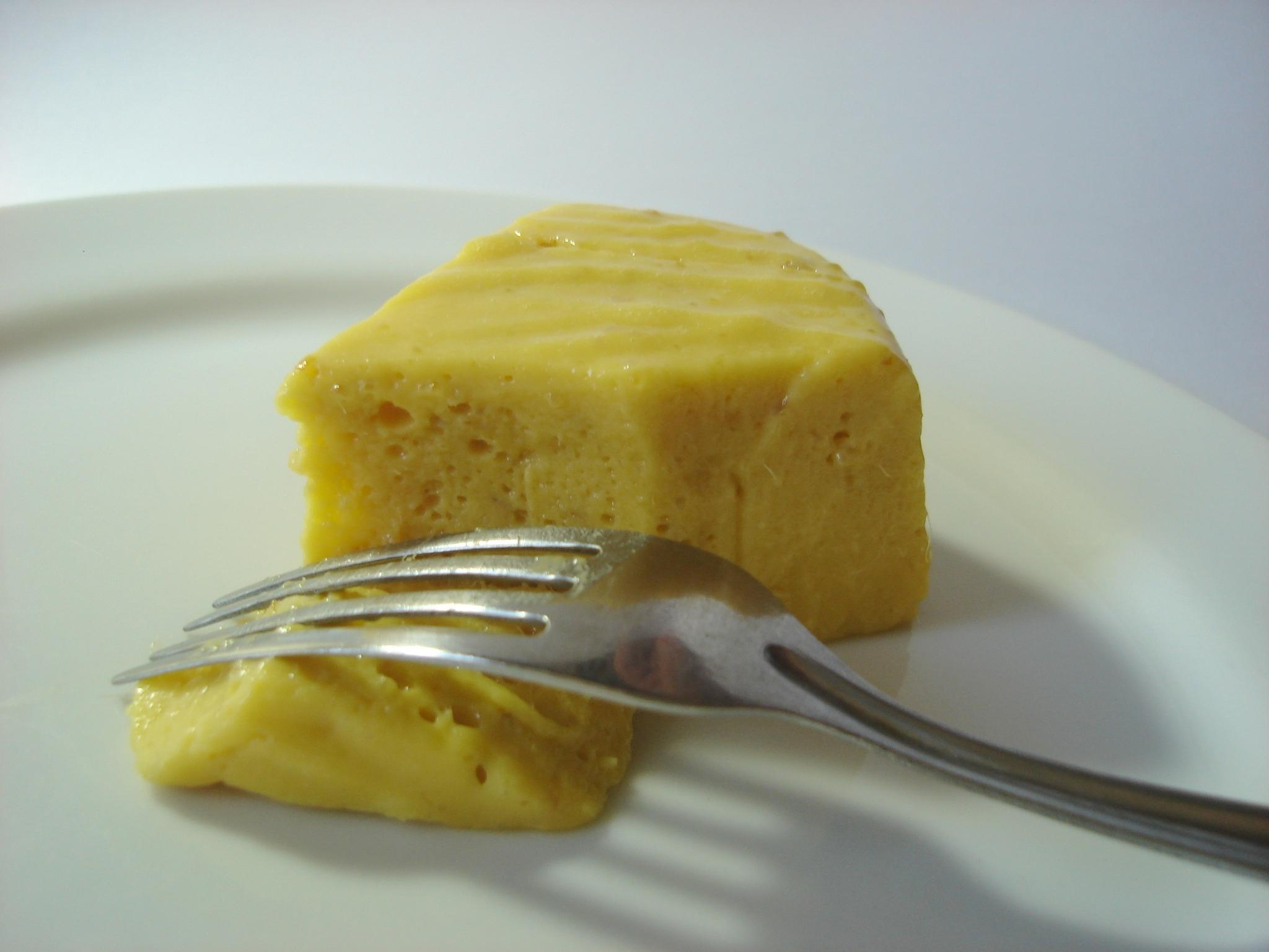 mousse de laranja com leite condensado sem gelatina