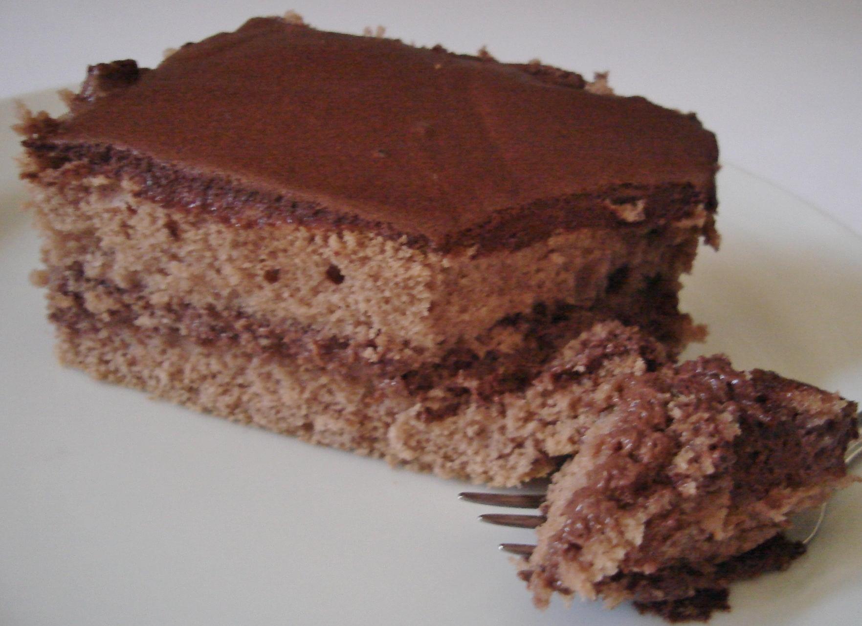 Bolo diet de chocolate