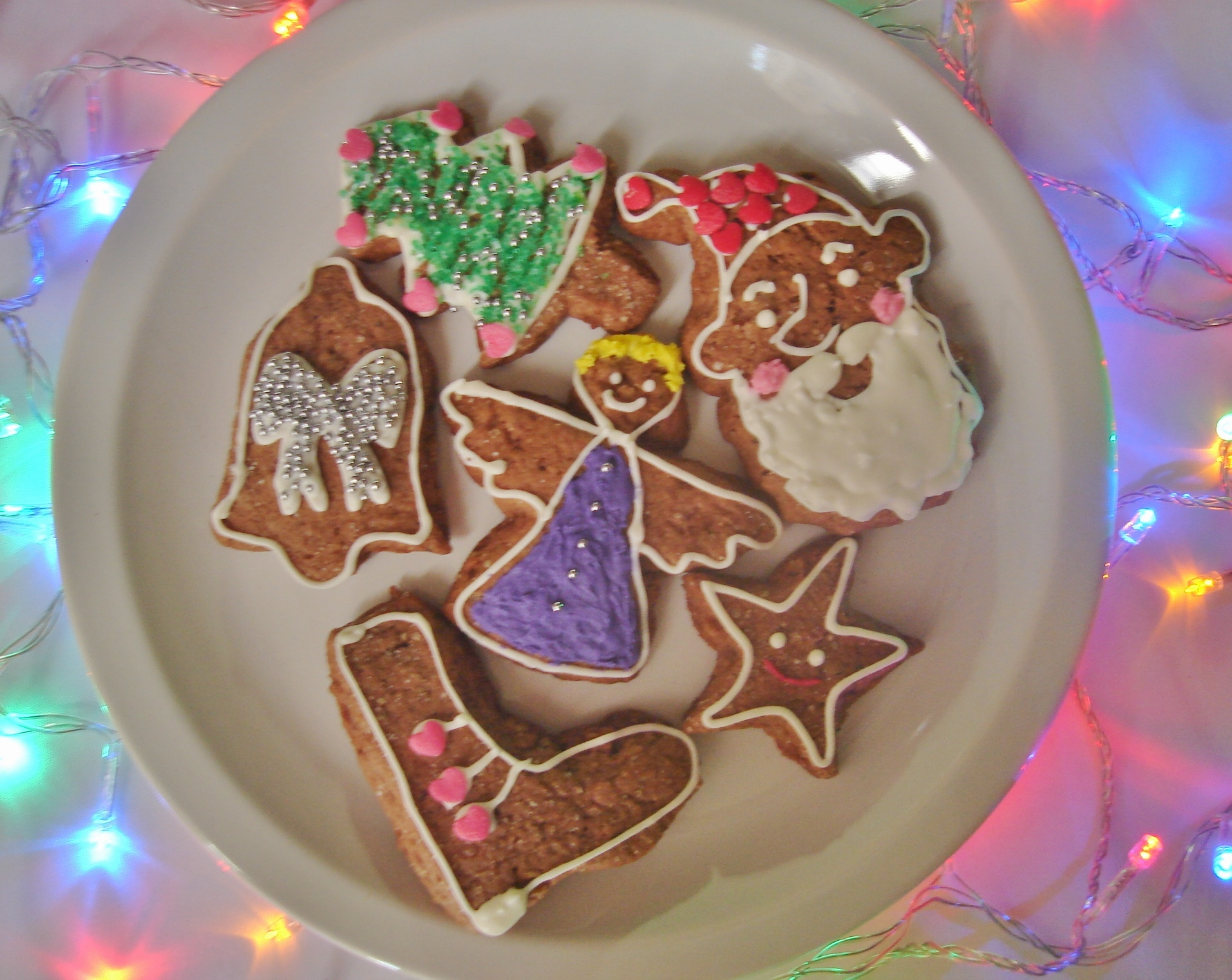 como decorar biscoitos com glace para natal