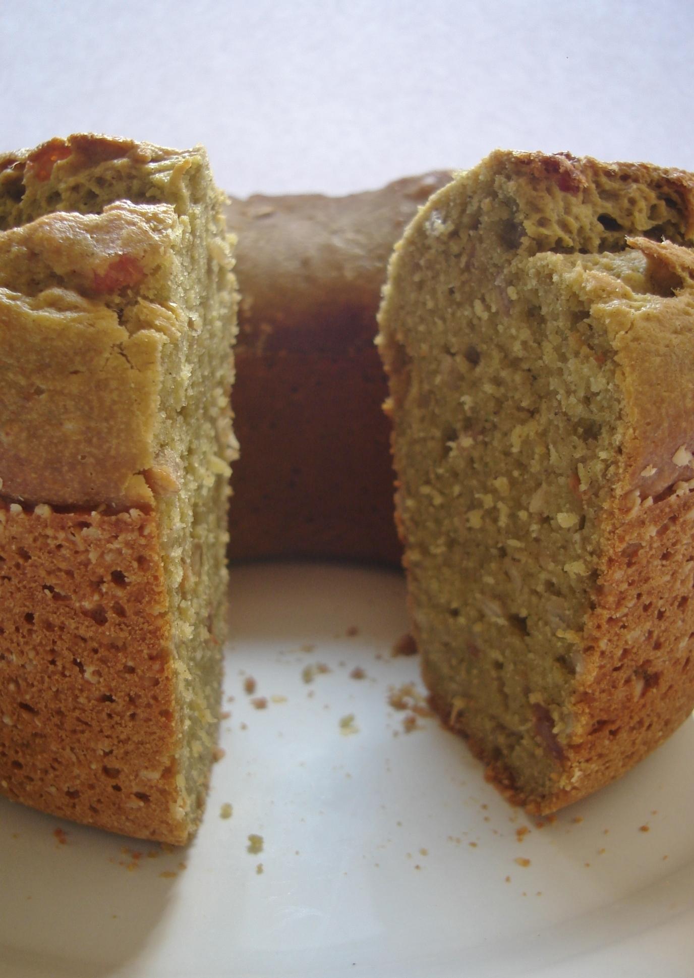 bolo comum diet no liquidificador