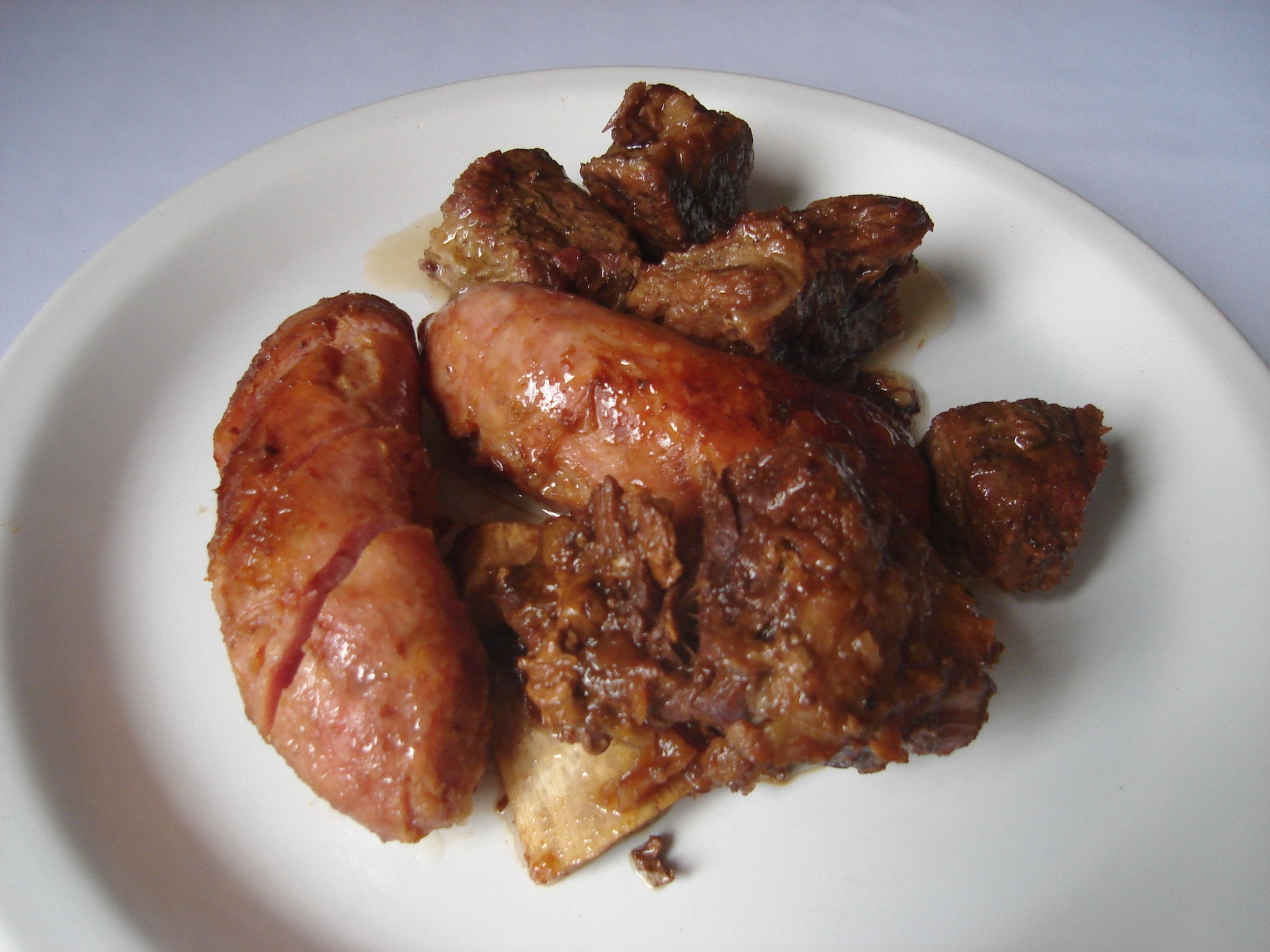 linguiça de carne bovina
