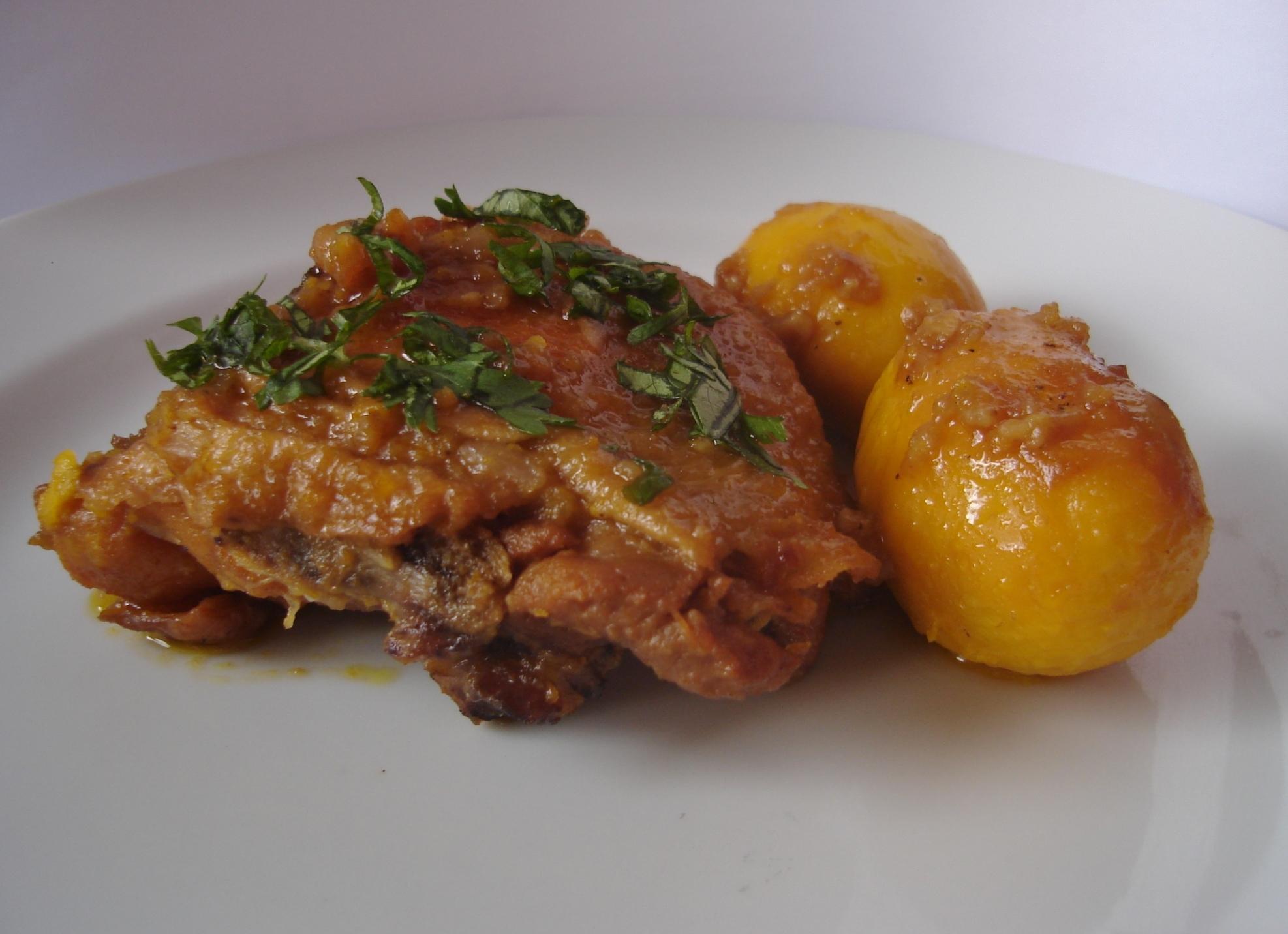 como fazer um frango caipira com cuscuz