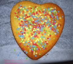 Recette n°2089: (dessert) Gâteau-coeur du Jour de l'An