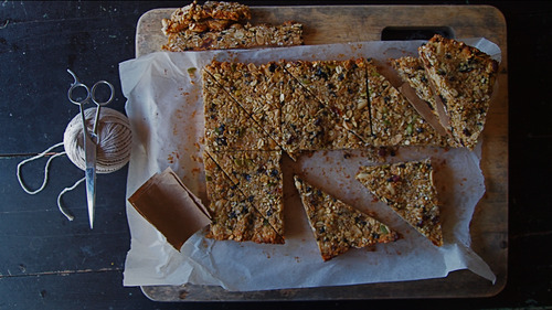 Granola bars re visited. Gluten free. Dairy free.
