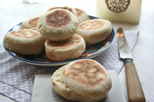 Batbout ( pain Marocain à la semoule )