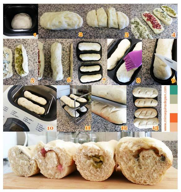 Baguettes Rellenas