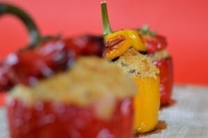 Fyldte peberfrugter – peperoni ripieni