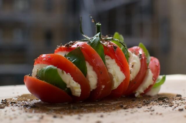 Italiensk tomatsalat – caprese
