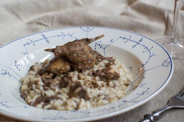 Risotto med skovduer – risotto ai colombacci