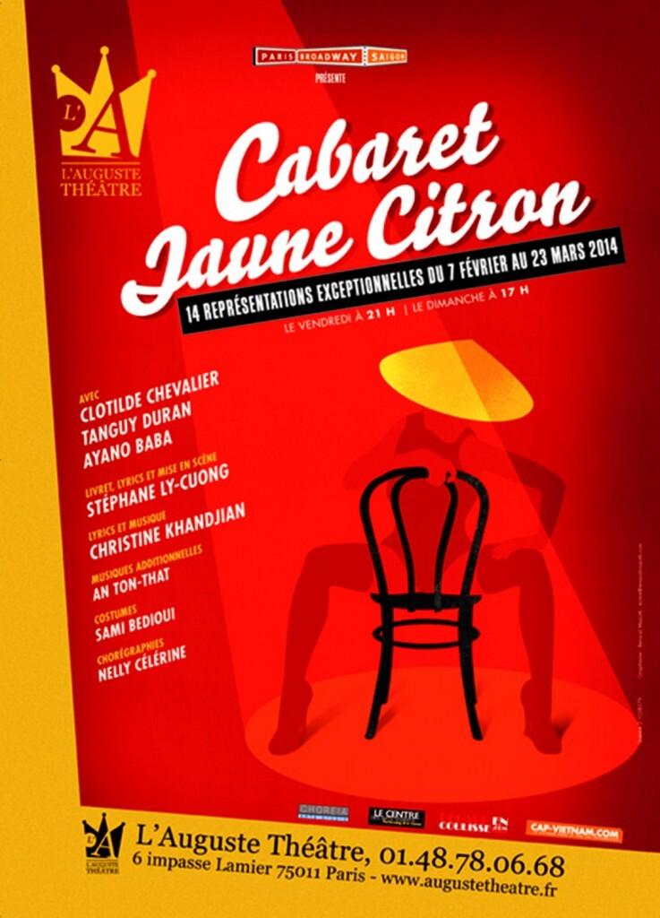 Questionnaire de Miss Tâm #4 : Stéphane Ly-Cuong (spectacle musical Cabaret Jaune Citron)