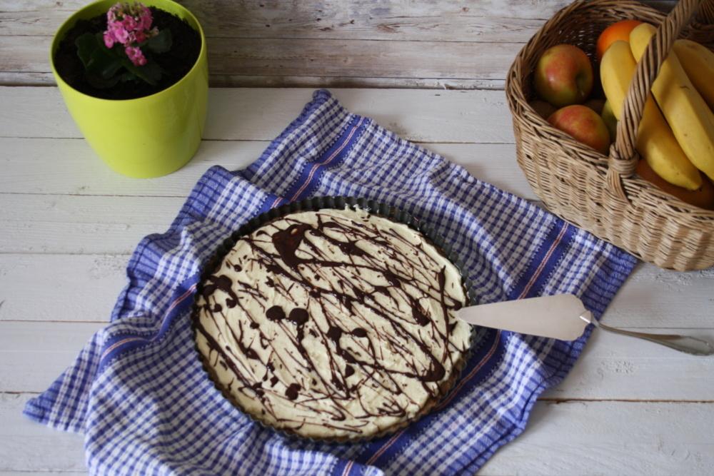 Slatka pita od vanilije i banane