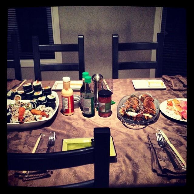 Des sushis maison… pas aussi difficile que ça en a l'air !