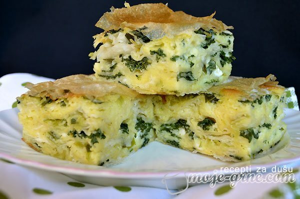Pita sa kejlom i sirom – Kale & Cheese Pie
