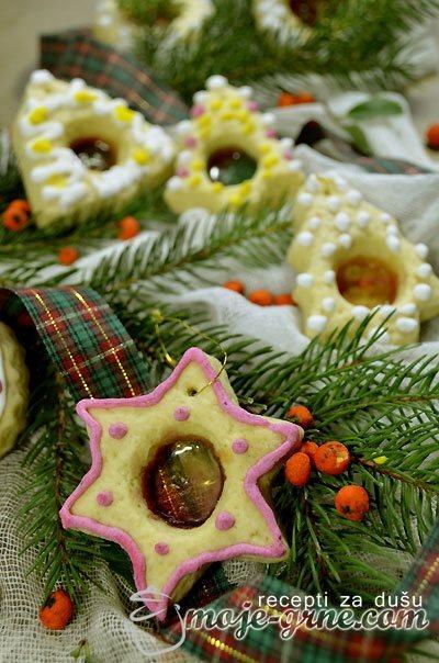 Stakleni kolačići – Stained Glass Cookies