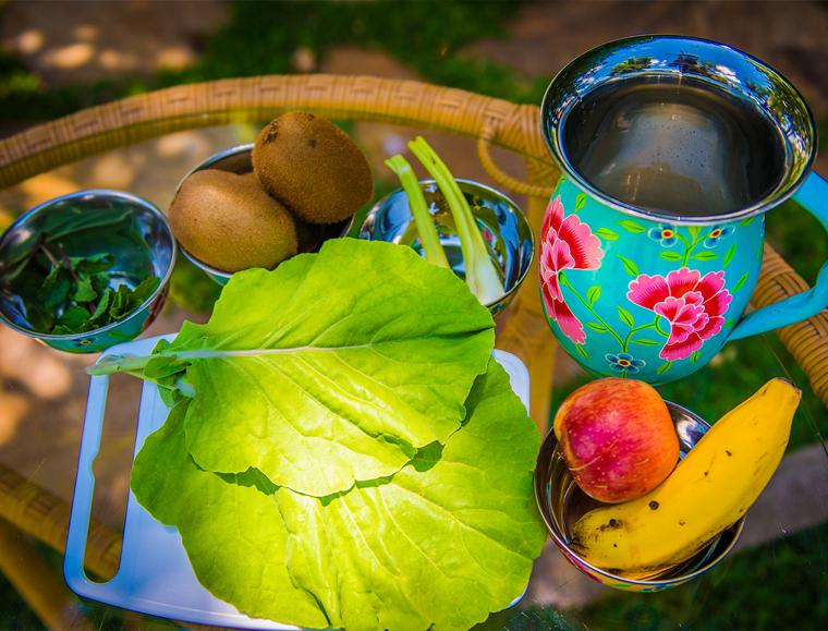 picolé de suco verde — o chef e a chata