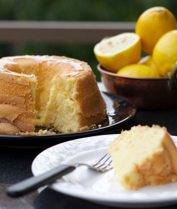 bolo de limão sem gluten