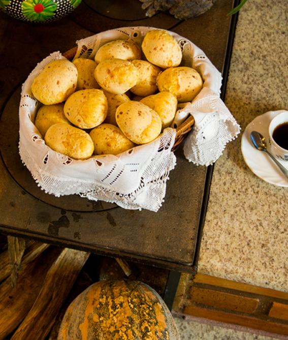 pão de queijo da vovó pipida