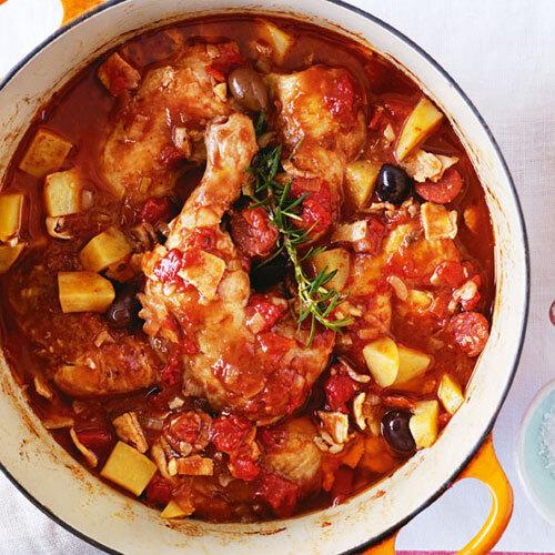 Sicilian Braised Chicken