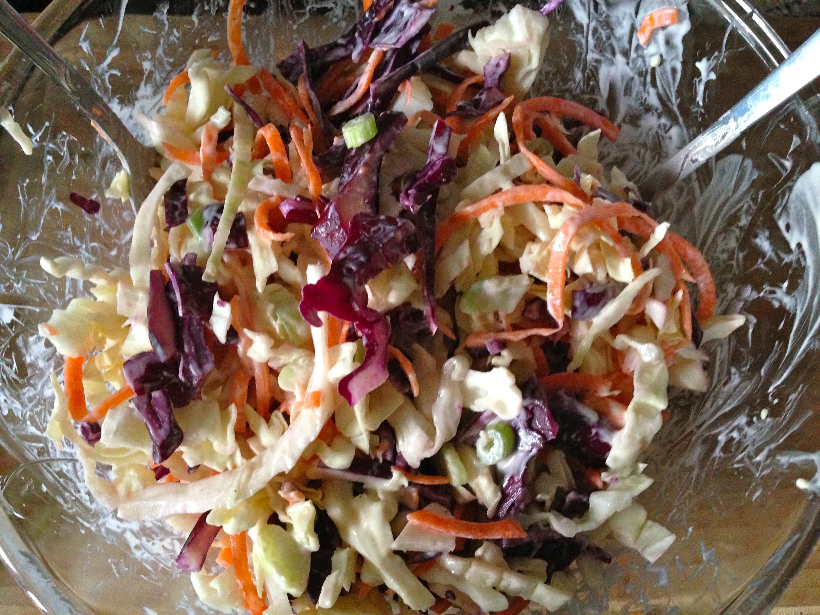 Coleslaw Croquant et Multicolore