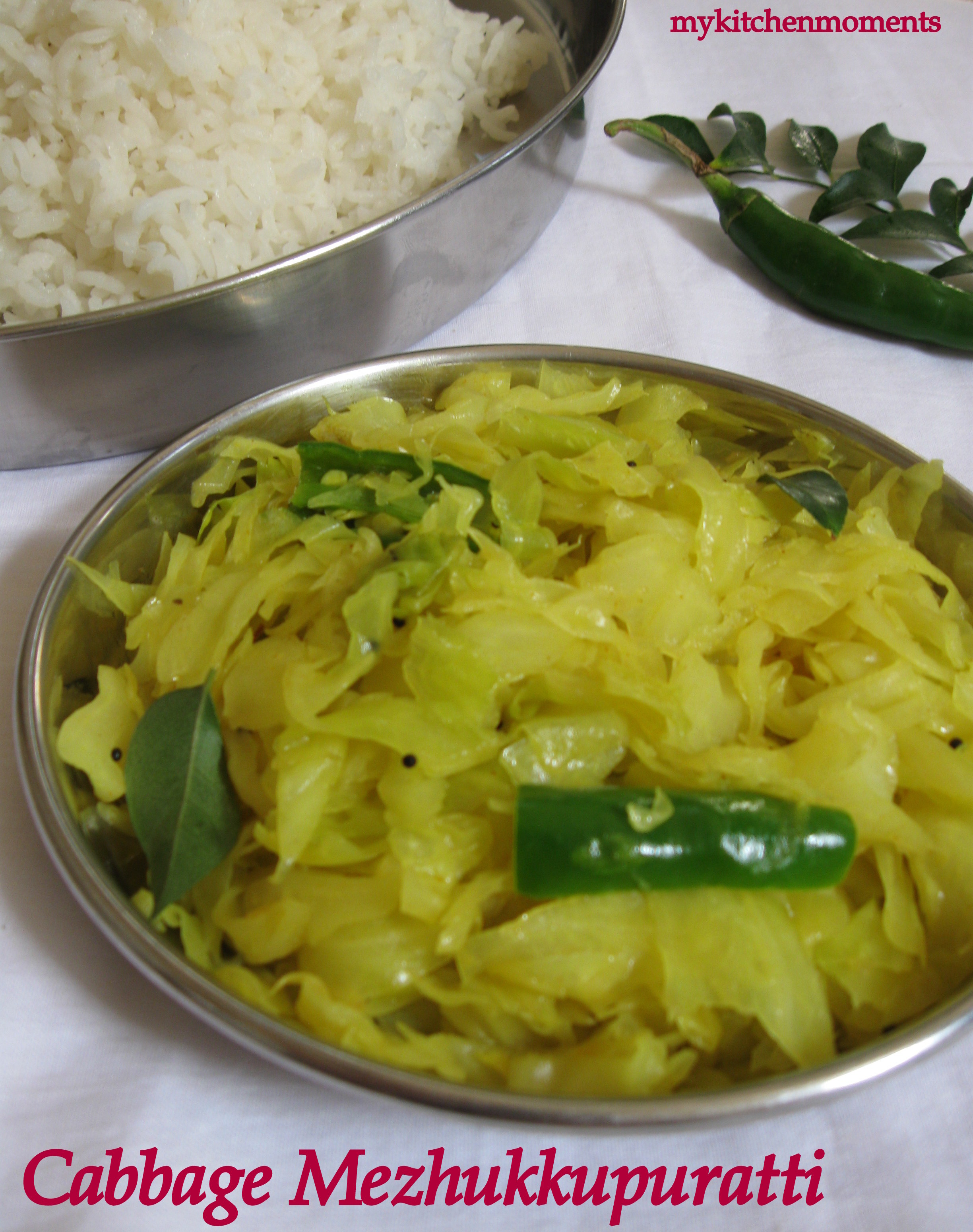 Cabbage Mezhukkupuratti