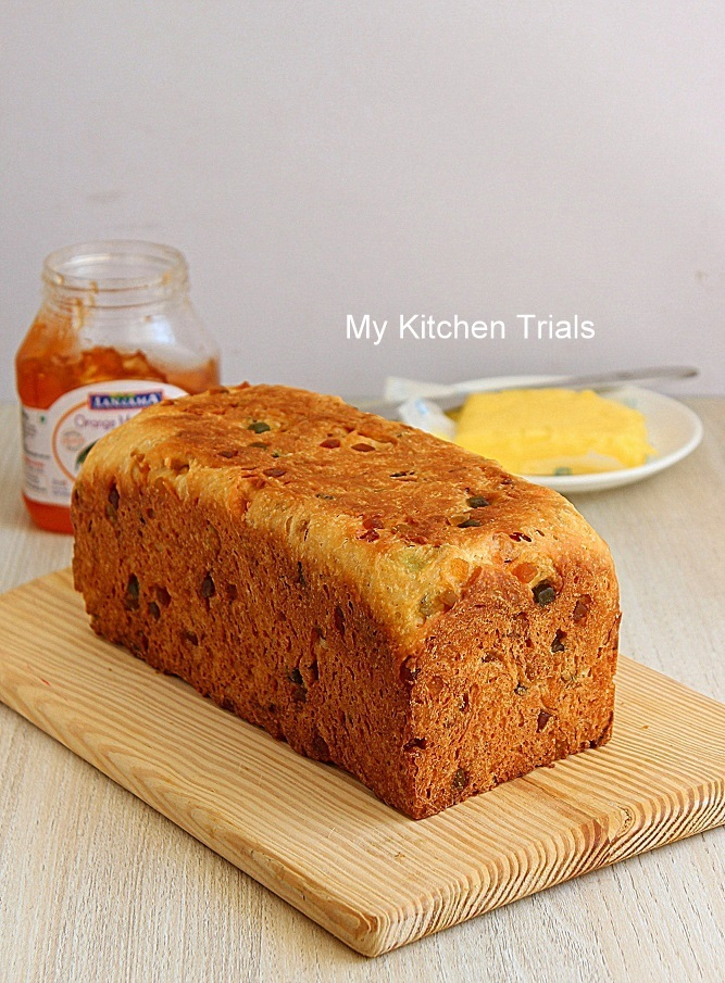 Tutti Frutti Bread – Fruit Bread