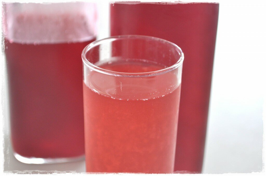 Old-Fashioned Raspberry Cordial …