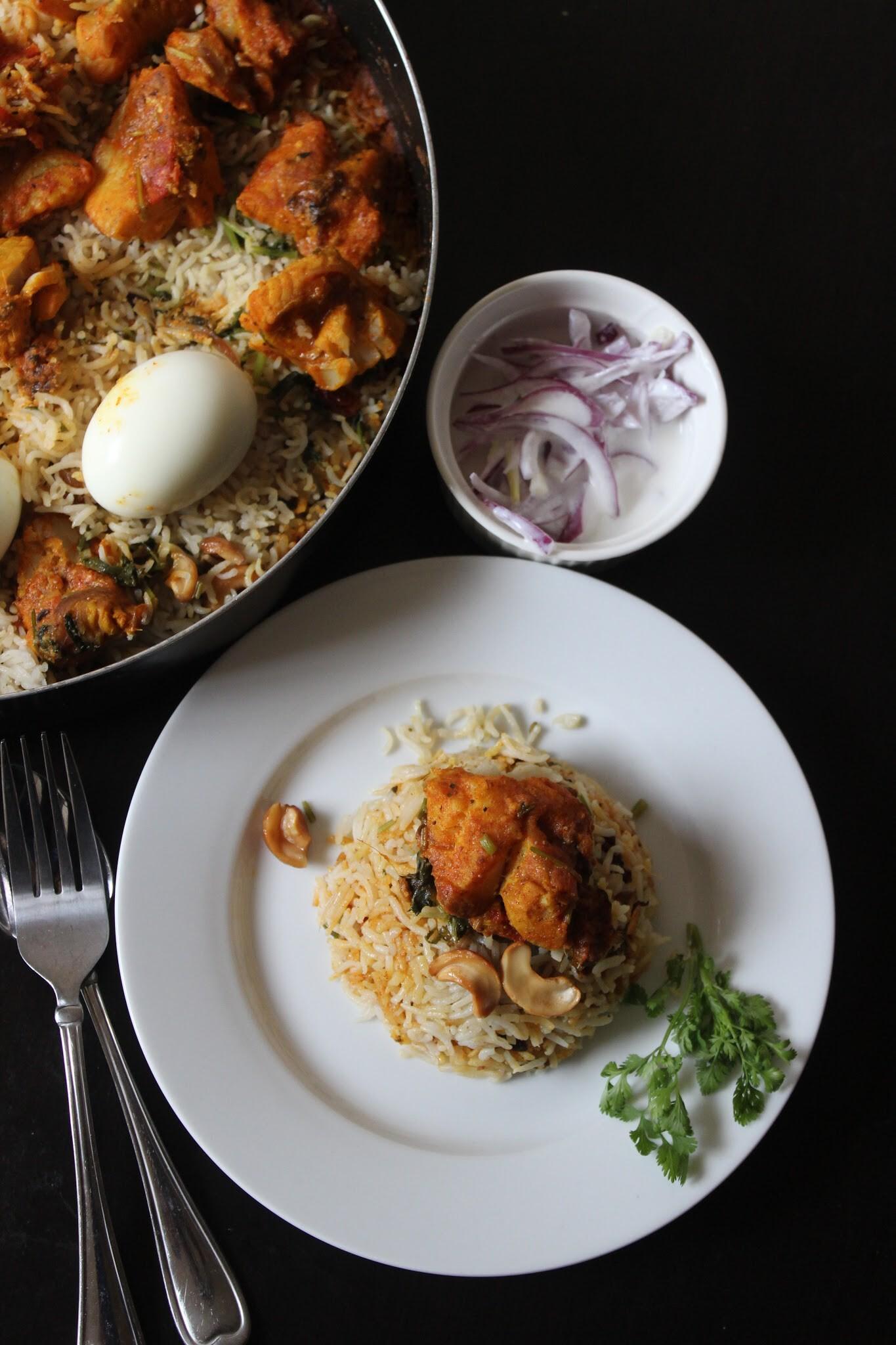 Malabar Style Fish Dum Biriyani !!!