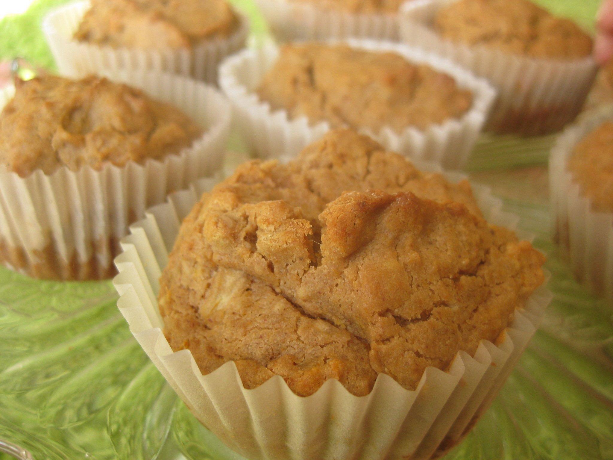 Almás-sütőtökös muffin cukor nélkül (gluténmentes, tejmentes, paleo)
