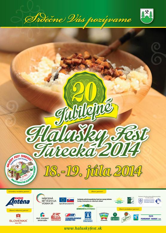 Halušky Fest Turecká 2014