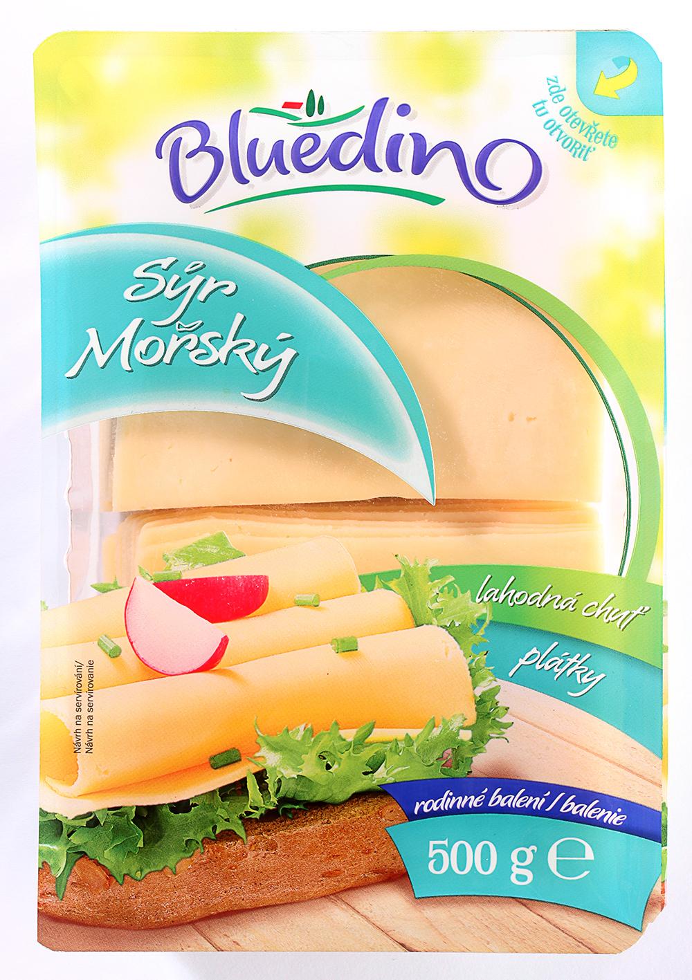 Bluedino Morský syr a Eidam pre celú rodinu