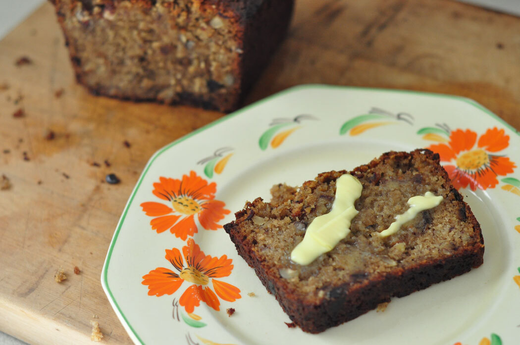 Comment on Spiced banana, date and walnut loaf by Cooking Harmony