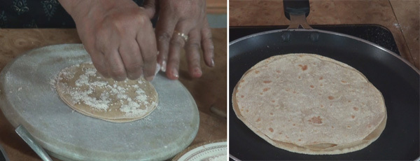 how to make Teen Parta Paratha