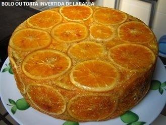 Bolo ou Torta Invertida de Laranja