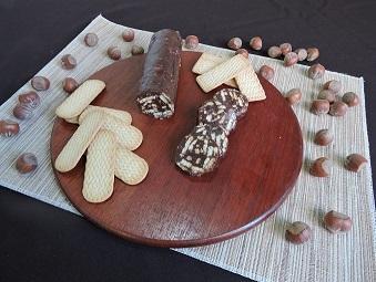 Salaminho de Chocolate