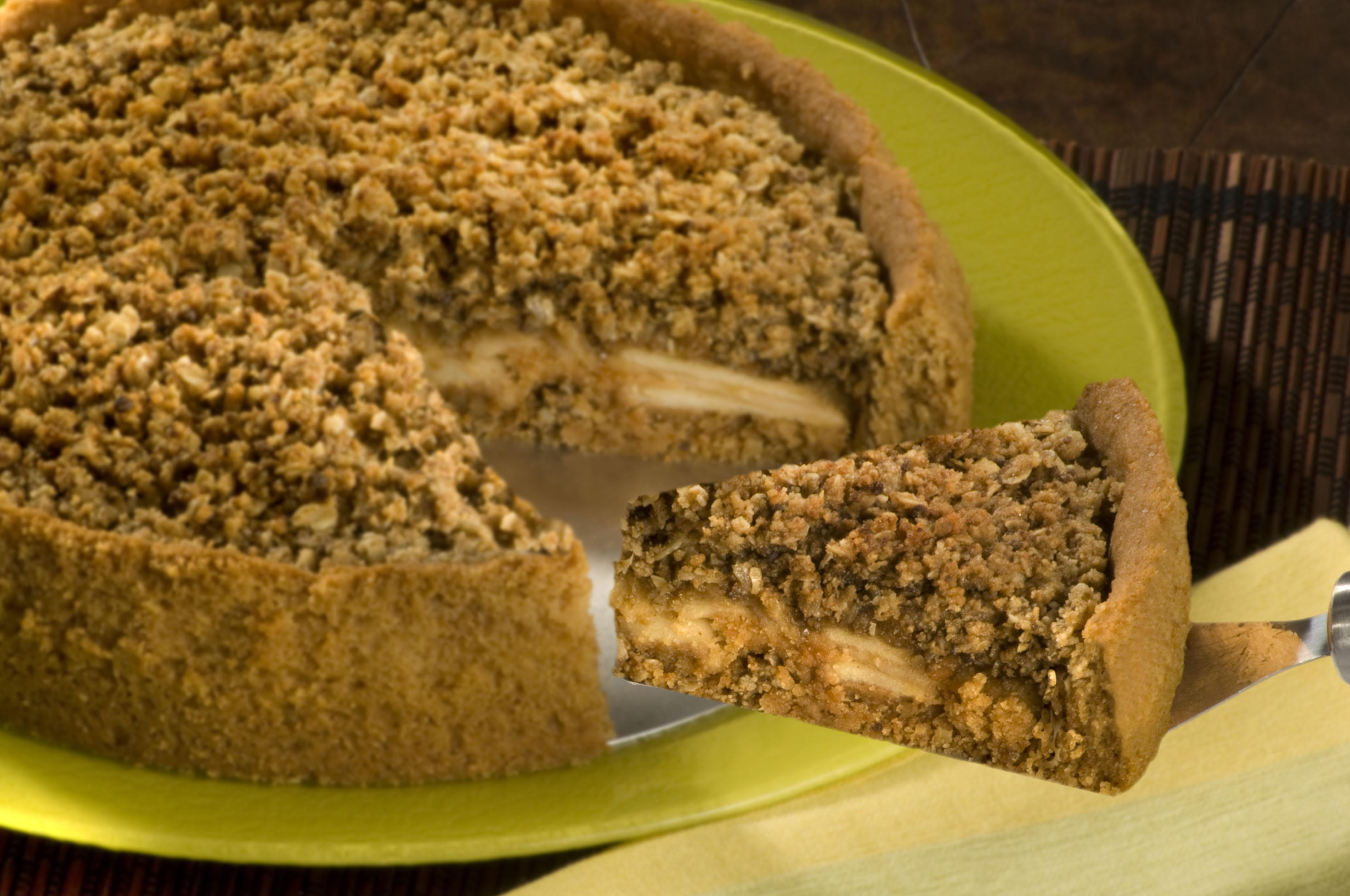 Torta Crocante de Maçã