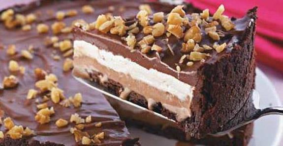 Torta de Sorvete com Marshmallow