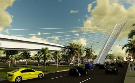 Construirán Distribuidor Vial en Acceso Norte de Ciudad Obregón
